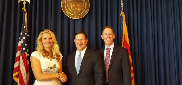 Historic Bill to Protect Salt River Wild Horses signed by Governor Doug Ducey