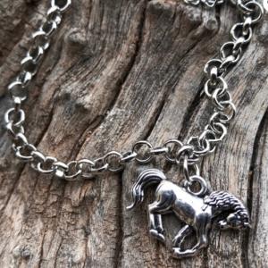 Run Free Charm Bracelet