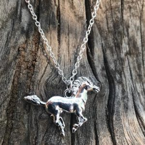 Wild Horse Necklace, Half Tail