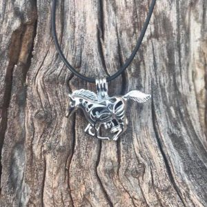 Horse Locket/Diffuser Pendent Necklace