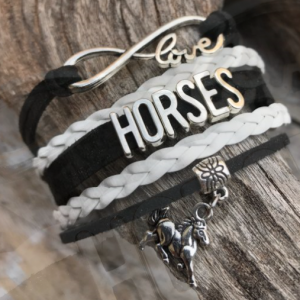 Eternal Love Horse Bracelet
